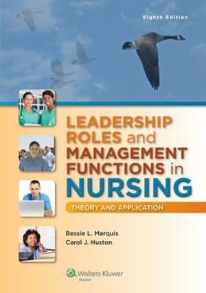 Cover of Leadership Roles and Management Functions in Nursing