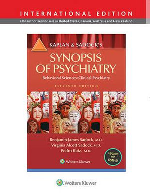 Cover of Kaplan and Sadock's Synopsis of Psychiatry