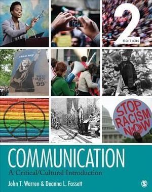 Cover of Communication: A Critical/Cultural Introduction 2ed