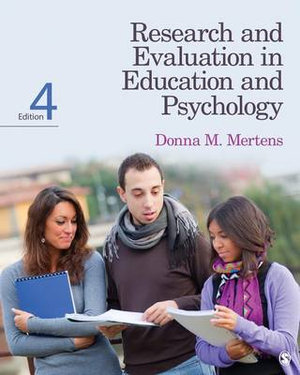Cover of Research and Evaluation in Education and Psychology