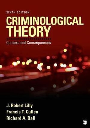Cover of Criminological Theory