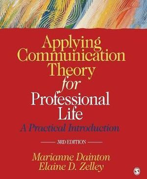 Cover of Applying Communication Theory for Professional Life