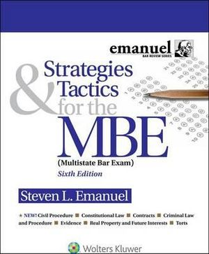 Cover of Strategies and Tactics for the MBE