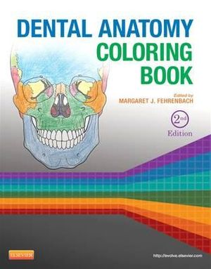 Cover of Dental Anatomy Coloring Book