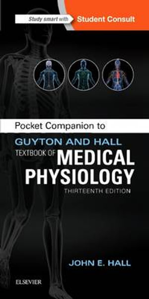 Cover of Pocket Companion to Guyton and Hall Textbook of Medical Physiology
