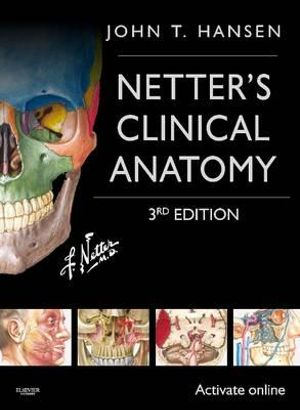 Cover of Netter's Clinical Anatomy