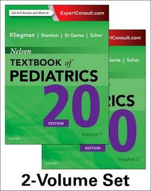 Cover of Nelson Textbook of Pediatrics