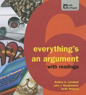 Cover of Everything's an Argument with Readings