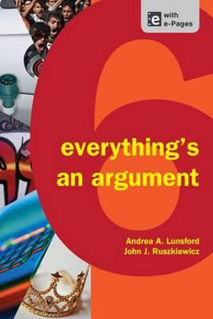 Cover of Everything's an Argument