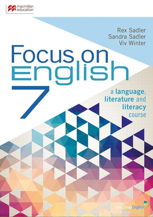 Cover of Focus on English 7 Student Book