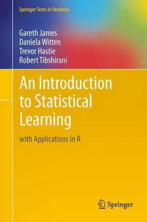 Cover of An Introduction to Statistical Learning