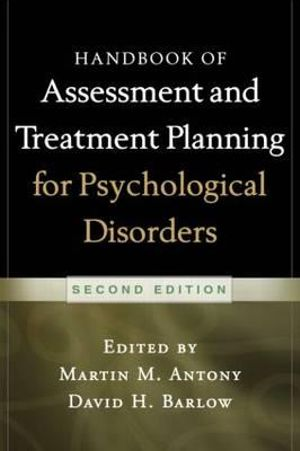 Cover of Handbook of Assessment and Treatment Planning for Psychological Disorders