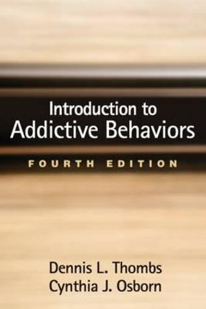 Cover of Introduction to Addictive Behaviors