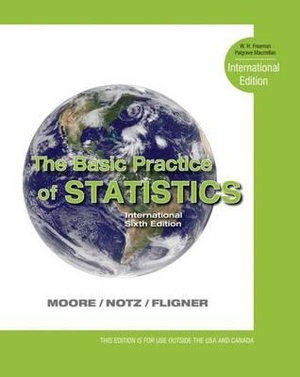 Cover of The Basic Practice of Statistics, 6th Ed