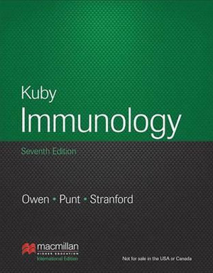 Cover of Kuby Immunology.
