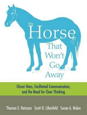 Cover of The Horse That Won't Go Away