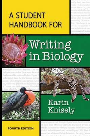 Cover of A Student Handbook for Writing in Biology