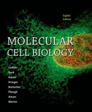 Cover of Molecular Cell Biology