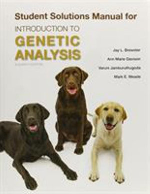 Cover of Solutions Manual for Introduction to Genetic Analysis