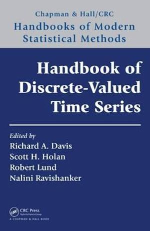 Cover of Handbook of Discrete-Valued Time Series