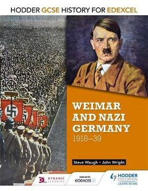 Cover of Weimar and Nazi Germany, 1918-39