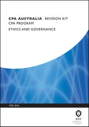 Cover of CPA Australia Ethics and Governance