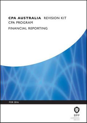 Cover of CPA Australia Financial Reporting