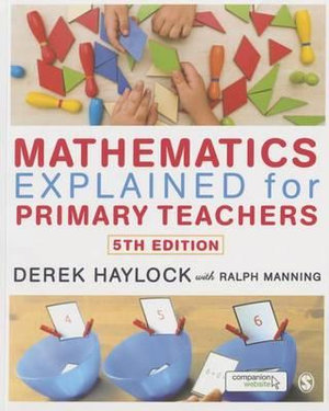 Cover of Mathematics Explained for Primary Teachers