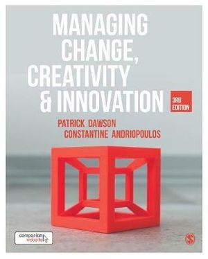 Cover of Managing Change, Creativity and Innovation
