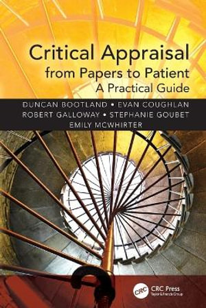 Cover of Critical Appraisal from Papers to Patient Care