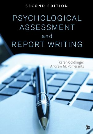 Cover of Psychological Assessment and Report Writing