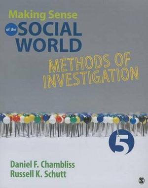 Cover of Making Sense of the Social World