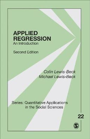 Cover of Applied Regression