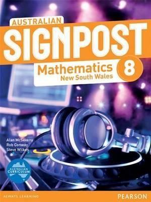 Cover of Australian Signpost Mathematics 8 New South Wales: Teacher companion
