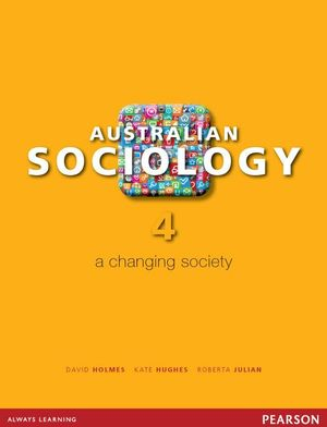Cover of Australian Sociology