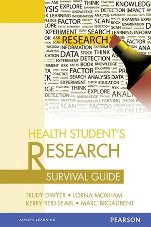 Cover of Health Student's Research Survival Guide