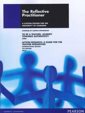 Cover of The Reflective Practitioner Custom Book                                 Source Books - see text