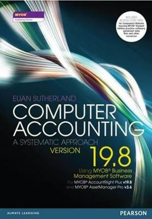 Cover of Computer Accounting
