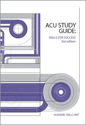 Cover of ACU Study Guide: Skills for Success