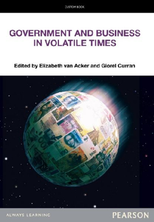 Cover of Business and Government in Volatile Times Pearson Original              Source Book - see text