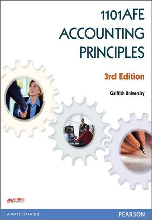 Cover of 1101AFE Accounting Principles Custom Book                               Source Book - see text