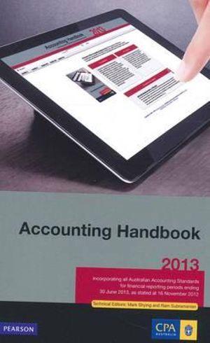 Cover of Accounting Handbook 2013