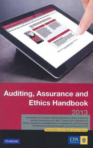 Cover of CPA Auditing Handbook 2013