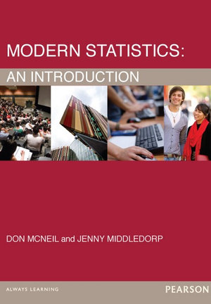Cover of Modern Statistics Pearson Original