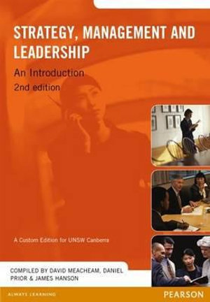 Cover of Strategy, Management and Leadership