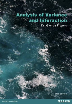 Cover of Analysis of Variance and Interaction Pearson Original                   Source Book                                                             9781486007097 - Full text