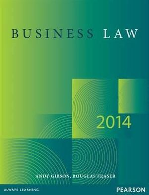 Cover of Business Law 2014