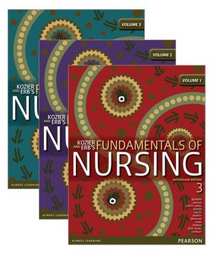 Cover of Kozier and Erb's Fundamentals of Nursing Pack Vols 1-3