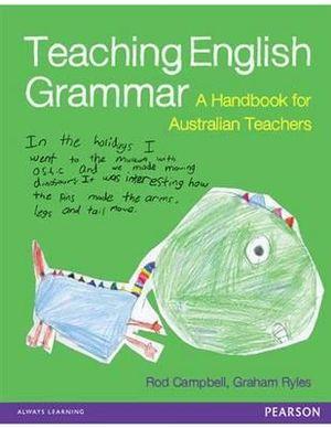 Cover of Teaching English Grammar