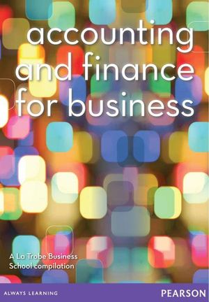 Cover of Accounting and Finance...for Business